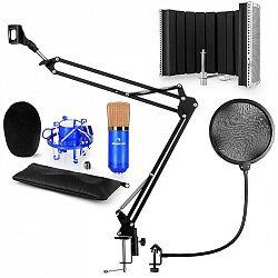 Auna CM001BG mikrofónová sada V5 kondenzátorový mikrofón, mikrofónové rameno, pop filter, mikrofónový panel