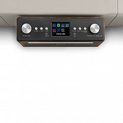 Auna Connect Soundchef, kuchynské rádio, inštalovateľné na spodnú stranu skrinky, internet, DAB+, FM, 2x3