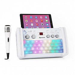 Auna DiscoFever 2.0, karaoke systém, BT, viacfarebné disko LED diódy, CD/CD+G prehrávač