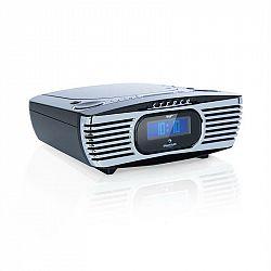 Auna Dreamee DAB+, rádiobudík, CD prehrávač, DAB+/FM, CD-R/RW/MP3, AUX, retro, čierny