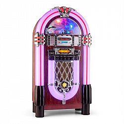 Auna Graceland XXL BT, jukebox s bluetooth USB SD AUX CD FM/AM