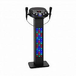 Auna KaraBig, LightUp, karaoke systém, BT, 2xmikrofón, multicolor, USB, 40W RMS, 640W max