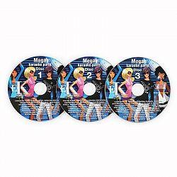 Auna Karaoke CD+G Set, sada 3 ks