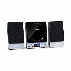 Auna Microstar, mikrosystém, vertikálny systém, CD prehrávač, bluetooth, USB port, diaľkový ovládač