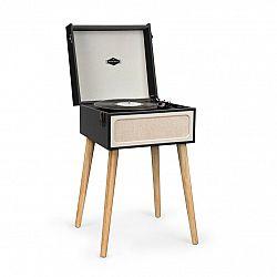Auna Sarah Ann, gramofón, bluetooth, USB, 33, 45 a 78 ot./min., čierny/krémový