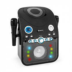 Auna StarMaker, karaoke systém, CD, bluetooth, AUX, LED svetelný efekt