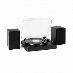 Auna TT-Play SE, gramofón, reproduktor, 20 W max., BT, pitch control, čierny
