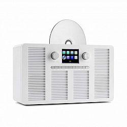 Auna Vertico, internetové rádio s CD prehrávačom, IR/DAB+/FM, BT, 2,4