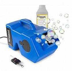 Beamz B1000, sada s výrobníkom mydlových bublín, 1 liter tekutiny