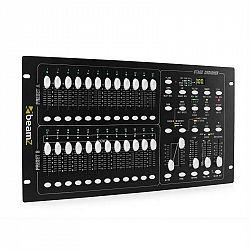Beamz DMX-024PRO, 24-kanálový DMX kontrolér, pult pre riadenie osvetlenia
