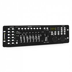 Beamz DMX 240 Controller, 240 kanálov, MIDI