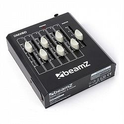 Beamz DMX60, 6-kanálový DMX ovládač svetelných efektov, XLR