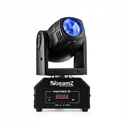 Beamz Panther 15 Pocket, otočná hlavica pre svetelné efekty, 4 v 1 CREE LED diódy, 10 W