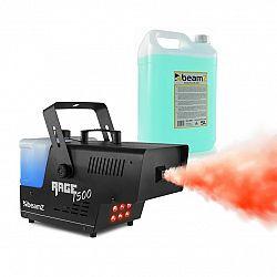 Beamz Rage 1500LED, výrobník hmly, vrátane hmlovej tekutiny, LED diódy, 1500 W, 350 m³/min.