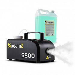 Beamz S500 New Edition, výrobník hmly, vrátane hmlovej kvapaliny, 500W, 50 m³/min