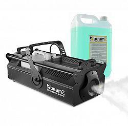 Beamz S500 výrobník hmly, vrátane hmlovej tekutiny, 3500 W, objem nádrže 10 litrov