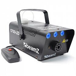 Beamz S700LED, 700W, dymostroj s ľadovým efektom a diaľkovým ovládačom, montážne držadlo