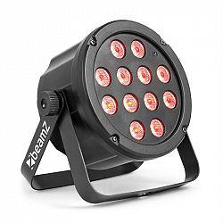 Beamz SlimPar 35, LED reflektor, 12 x 3 W 3 v 1 RGB LEDky, DMX/Standalone, čierny
