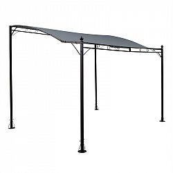 Blumfeldt Allure, pergola, prístrešok, pavilón, 300 × 250 cm, polyester, tmavosivá
