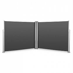 Blumfeldt Bari Doppio 616, dvojitá bočná markíza, 6 x 1.6 m, hliník, antracitová