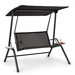Blumfeldt Bel Air Mono Swing, hollywoodska hojdačka, oceľový rám, Mono Relax, čierna