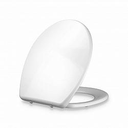 Blumfeldt Celesto, záchodový doska, tvar O, automatické sklápanie, antibakteriálny, biela
