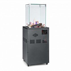 Blumfeldt Flagranti Crystal View, plynový ohrievač, 8 kW, ušľachtilá oceľ