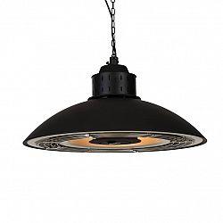 Blumfeldt Heat Meister, terasový ohrievač, 2400 W, LED, diaľkový ovládač, čierny