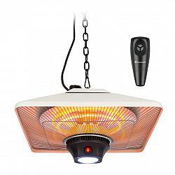 Blumfeldt Heat Square, infračervený ohrievač, 650/1350/2000 W, karbón, IP24, LED