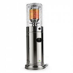 Blumfeldt Heatwave V2A, terasový ohrievač, plyn, ušľachtilá oceľ, prenosný, 11 kW, 800 g/h