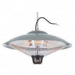 Blumfeldt Heizsporn, stropný ohrievač, 60.5 cm (Ø), LED lampa, diaľkový ovládač