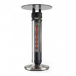 Blumfeldt Primal Heat 95, ohrievač, bistro stôl, uhlíkové IR výhrevné teleso, 1600 W, LED, 95 cm, sklo
