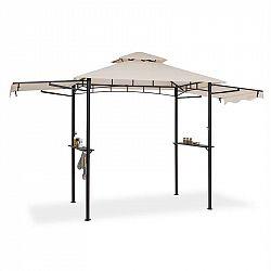 Blumfeldt Steakhouse Wings, altánok, 244 x 260 x 152 cm, 160 g/m², polyester, oceľ, béžový