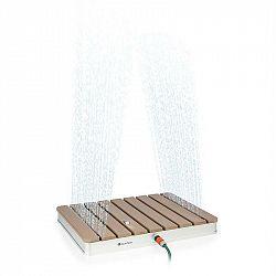Blumfeldt Sumatra Breeze, SQ, záhradná sprcha, WPC, hliník, 70x55, hranatá