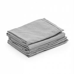 Blumfeldt Theia, poťahy na čalúnenie, 8 dielov, 100 % polyester, nepremokavé, svetlosivé
