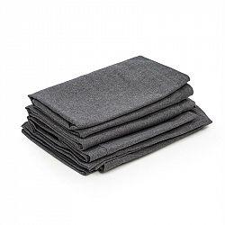 Blumfeldt Theia, poťahy na čalúnenie, 8 dielov, 100 % polyester, nepremokavé, tmavosivé