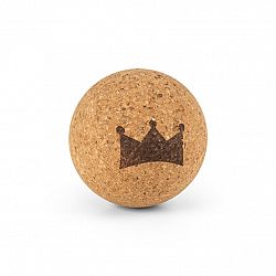 BoarderKING Balance Bullet, korková lopta k balančným doskám, fasciálna loptička, masážna loptička, fitnes loptička