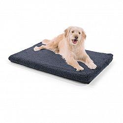 Brunolie Luna, pelech pre psa, psia podložka, prateľný, ortopedický, protišmykový, priedušný, pamäťová pena, veľkosť M (80 x 5 x 55 cm)