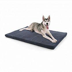 Brunolie Luna, pelech pre psa, psia podložka, prateľný, ortopedický, protišmykový, priedušný, pamäťová pena, veľkosť XL (120 x 5 x 85 cm)