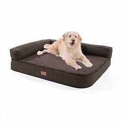 Brunolie Odin, pelech pre psa, podložka pre psa, možnosť prania, ortopedický, protišmykový, priedušný, pamäťová pena, veľkosť M (100 × 12 × 80 cm)