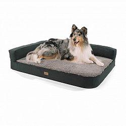 Brunolie Odin, pelech pre psa, psia podložka, prateľný, ortopedický, protišmykový, priedušný, pamäťová pena, veľkosť L (120 × 12 × 80 cm)