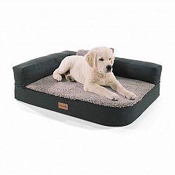 Brunolie Odin, pelech pre psa, psia podložka, prateľný, ortopedický, protišmykový, priedušný, pamäťová pena, veľkosť S (80 x 10 x 60 cm)
