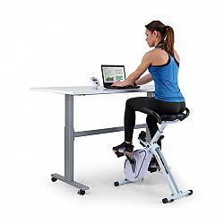 Capital Sports Azura Desk Bike, domáci trenažér, 7,5 kg zotrvačník, remeňový pohon