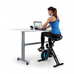 Capital Sports Azura Desk Bike, domáci trenážer, zotrvačná hmotnosť, 7,5 kg, remeňový pohon