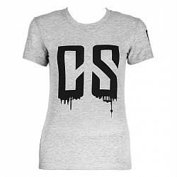 Capital Sports Beforce, veľkosť S, sivé, tréningové tričko, dámske