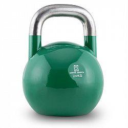 Capital Sports Compket 24, 24kg, zelená, činka kettlebell, guľové závažie