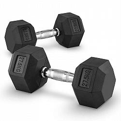 Capital Sports Hexbell 27,5, 27,5kg, krátkoručná činka (dumbbell)