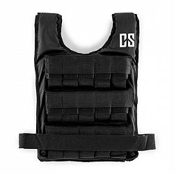 Capital Sports Monstervest, záťažová vesta, 10 kg, univerzálna veľkosť, nylon, čierna