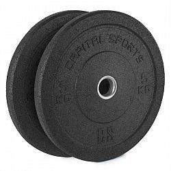 Capital Sports Renit, hi temp gumový kotúč, 50,4 mm, hliníkové jadro, guma, 2 x 5 kg