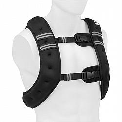Capital Sports X-Vest, záťažová vesta, 8 kg, neoprén/nylon, 2 hrudné popruhy, čierna
